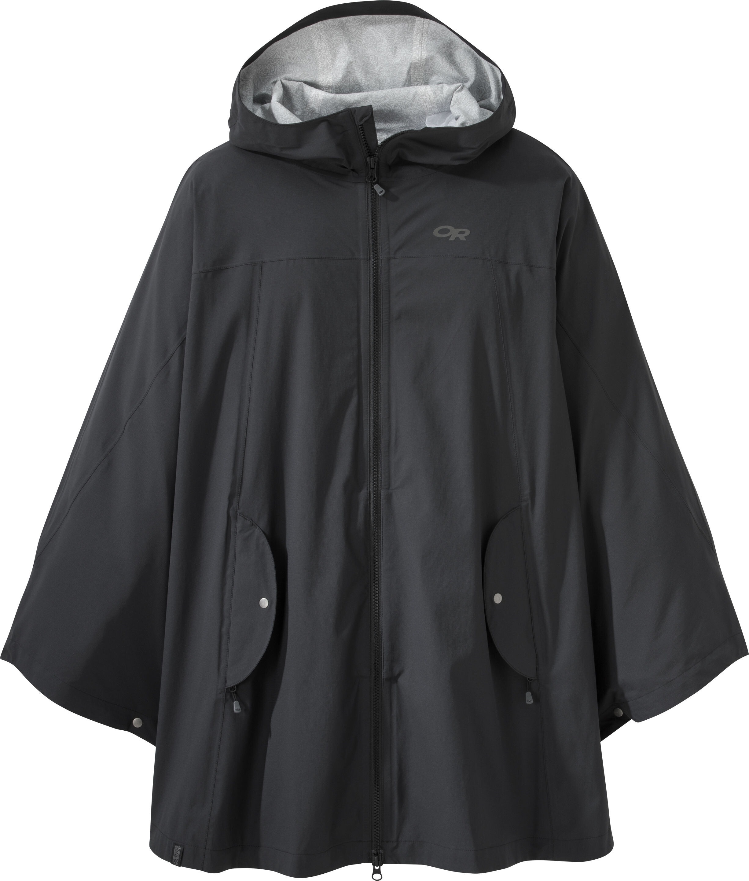 7843edad Outdoor Research W's Panorama Point Poncho Black   Gode tilbud hos ...